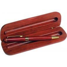 Στυλό με ξύλινη θήκη
